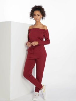 DEF jumpsuit Stretch rood