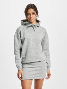 DEF / jurk Cropped in grijs