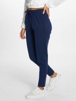 DEF Látkové kalhoty Tollow  modrý