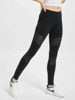 DEF Leggings/Treggings Laarni czarny