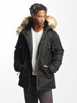 DEF Manteau hiver Sondre noir
