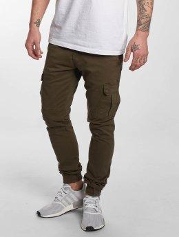 DEF Pantalon cargo Cargo kaki