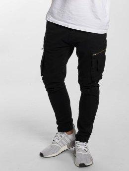 DEF Pantalon cargo Kuro noir