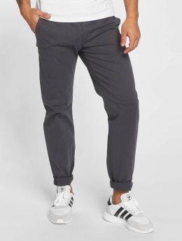 DEF Pantalon chino Georg gris