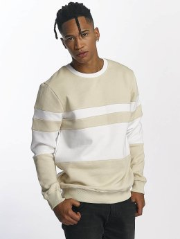 DEF Pullover Striped beige