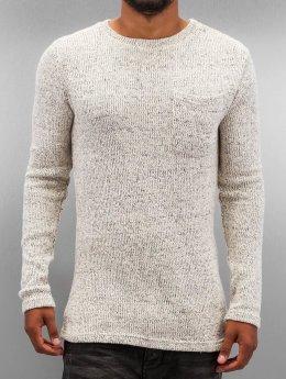 DEF Pullover Knit grau