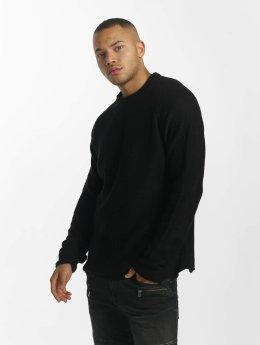 DEF Pullover Knit schwarz