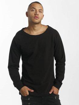 DEF Pullover Rough schwarz