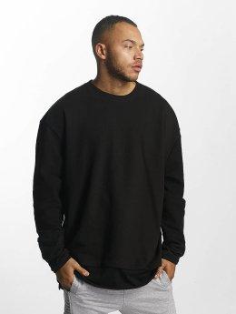 DEF Pullover Terry schwarz