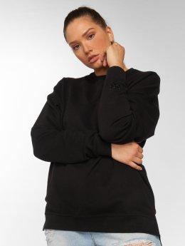 DEF Pullover Karrer schwarz