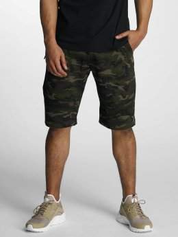 DEF Sweat Shorts Green Camouflage