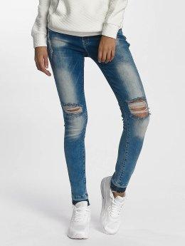 DEF Skinny Jeans Used blau