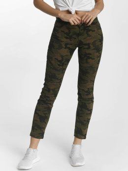 DEF Slim Fit -farkut Ribbed camouflage