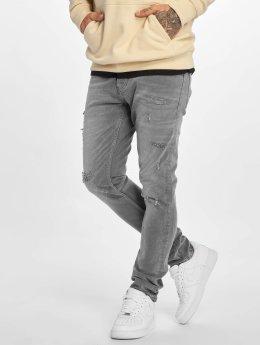 DEF Slim Fit Jeans Skom šedá