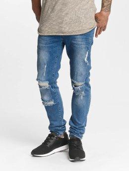 DEF Slim Fit Jeans John blauw