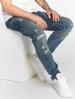 DEF Slim Fit Jeans Burt blauw