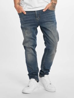 DEF Slim Fit Jeans Tommy modrý