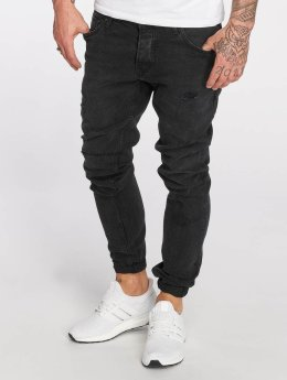 DEF / Slim Fit Jeans Skom i sort
