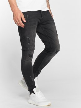 DEF Slim Fit Jeans Mingo sort