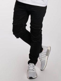 DEF Slim Fit Jeans King zwart