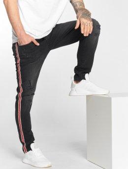 DEF Slim Fit Jeans Burt zwart