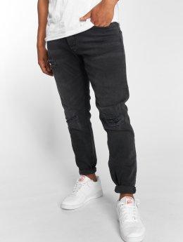 DEF Slim Fit Jeans Clem zwart