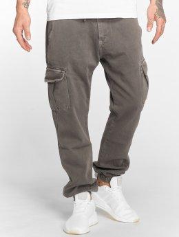 DEF Spodnie Chino/Cargo Kindou szary