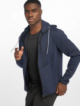 DEF Sports Hoodies con zip Bizier blu