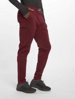 DEF Sports Spodnie do joggingu Rewop czerwony