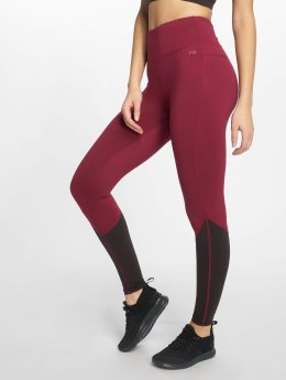 DEF Sports Sportleggings Bele  rood