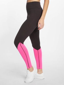 DEF Sports Sportleggings Bele  zwart