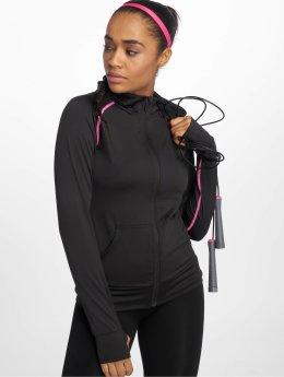DEF Sports | Allutic  noir Femme Sweat capuche zippé