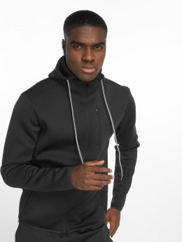 DEF Sports Sweat capuche zippé Bizier noir