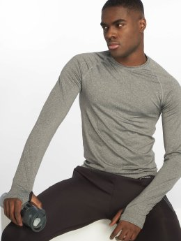 DEF Sports T-Shirt manches longues Eckini gris