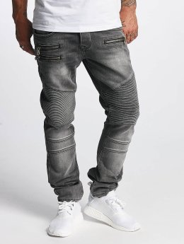DEF Männer Straight Fit Jeans World in grau