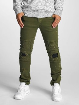 DEF Straight Fit Jeans Elom oliven