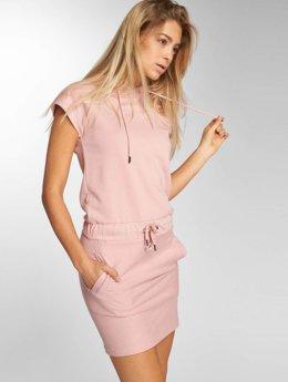 DEF Sukienki Alina rózowy
