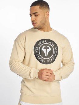 DEF Sweat & Pull  Mofugga Sweat Shirt Beig...