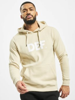 DEF Sweat capuche Til Death beige