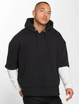 DEF Sweat capuche Layers noir
