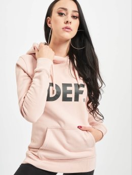 DEF Sweat capuche Lumos rose