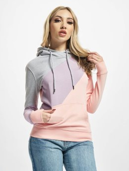 DEF Sweat capuche DFHD066 rose