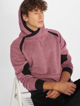 DEF Sweat capuche Colmar rouge