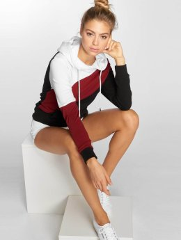 DEF Sweat capuche Anna rouge