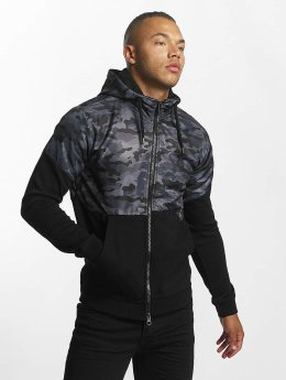 DEF Sweat capuche zippé Wonder noir