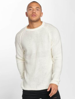 DEF Swetry Knit bialy