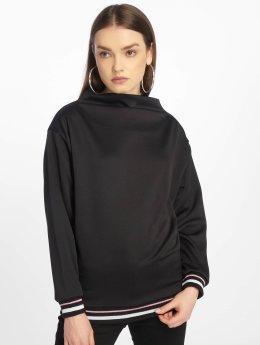 DEF Swetry Amber czarny