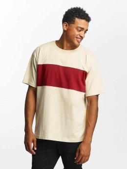DEF Stripe T-Shirt Beige