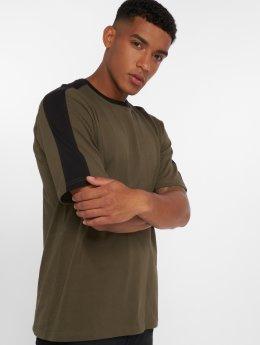 DEF Jesse T-Shirt Olive/Black