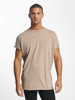 DEF T-Shirt Miguel Pablo Oversize beige